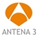 Logo Antena 3 - Channel TV Antena 3